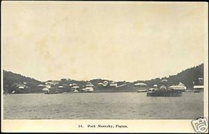 papua new guinea, PORT MORESBY, Panorama (1930s)