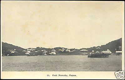 papua new guinea, PORT MORESBY, Panorama (1930s)