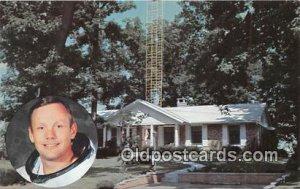 Boyhood Home of Astronaut Neil A Armstrong Space Wapakoneta, Ohio, USA Unused