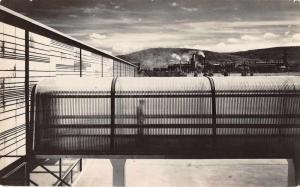 Corning New York Pyrex Bridge at Corning Glass Center real photo pc Z42027