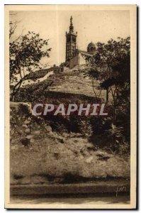 Postcard Old Marseille N D Guard Raucas Blanc View