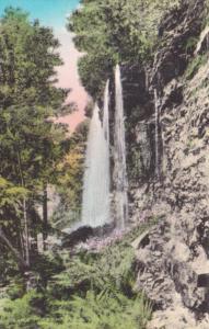 New York Lake Minnewaska Rainbow Falls Handcolored Albertype