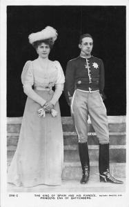King of Spain and his Fiancee, Princess Ena of Battenberg