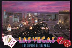 Nevada Las Vegas The Most Famous Gaming Strip In The World Is Las Virginia