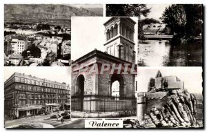 Postcard Modern Valencia on Rhone Park Jouvet General View of the Rhone Penda...
