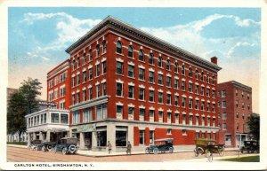 New York Binghamton Carlton Hotel