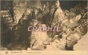 Postcard Ancient Caves of Han's boudoir proserpine