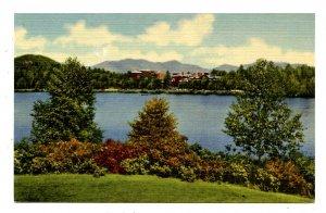 NY - Lake Placid. Lake Placid Club, Mirror Lake