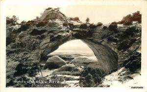 1940s Window Rock Arizona Mullarky RPPC real photo postcard 10693
