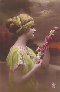 RP: Woman w/ Flowers , 00-10s #2