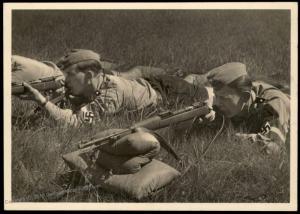 3rd Reich Germany Shooting Education Hitler Youth HJ RPPC Propaganda Card 84752