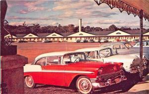 Quebec City Canada Motel Auberge Du Blvd Laurier Old Cars Postcard