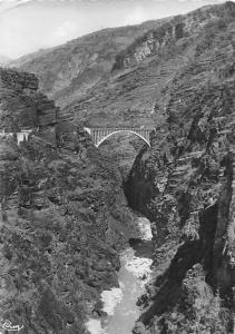 France Gorges de Daluis, Vue sur les Gorges et le Pont de la Marlee Bridge River