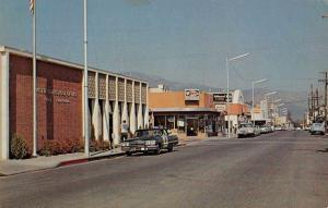 Yreka California Post Office Street Scene Vintage Postcard JD933938