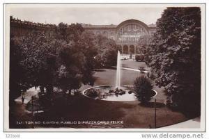 RP Italy Torino (Turin) -Giardini Publici di Plazza Carlo Felice