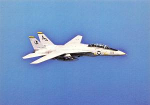 Postcard NEW F14 Grumman Tomcat TOP GUN Maverick from USS Dwight Eisenhower