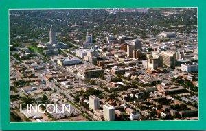 Nebraska Lincoln Aerial View