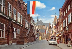Netherlands Groeten uit Alkmaar Vintage Cars Voitures Eglise Church