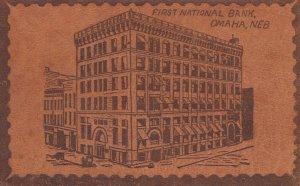 OMAHA , Nebraska , 00-10s ; First National Bank