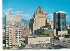 Canada Hotel Vancouver Avord & Burrard Buildings Vancouver British Columbia