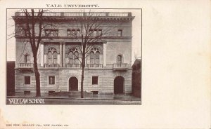 Yale Law School, Yale University, New Haven, CT., 1898 Private Mailing Card