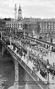 UK - England, London, The Royal Progress, June 22, 1911. Coronation of King G...