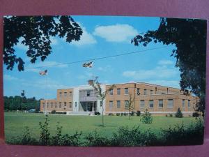 Old Postcard National Guard Armory Salisbury, MD