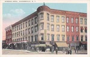 New York Gloversville Windsor Hotel &  Drug Store