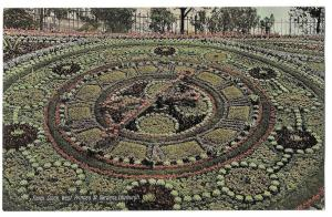Scotland Edinburgh Floral Clock West Princes St Gardens PC