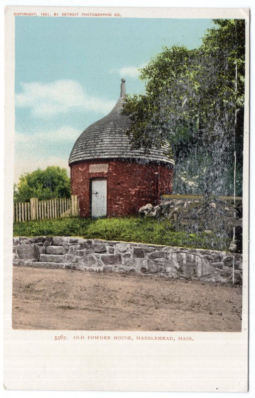 Marblehead, Mass, Old Powder House