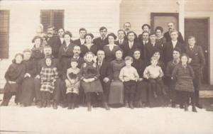 Group Of School Children Stewarts Franklin Real Photo