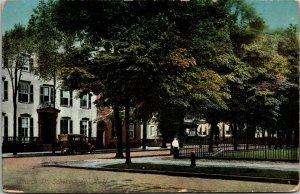 Church Street - VINTAGE - Schenectady New York - STREET VIEW - Postcard