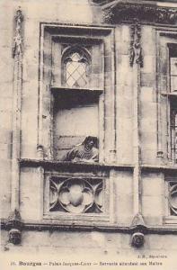 Palais Jacques Couer, Servante Attendant Son Maitre, Bourges (Cher), France, ...