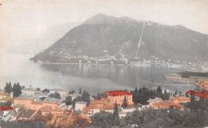 Italy Old Vintage Antique Post Card Lake Como Unused