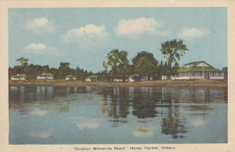 Quigleys Wolverine Beach , HONEY HARBOR , Ontario , Canada  , 30-40s