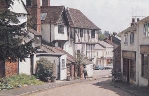 Fishmarket Street Thaxted Essex Postcard