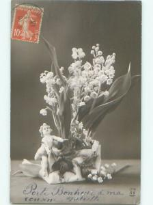 Old rppc OBJECT DEPICTED Great Postcard AB2229