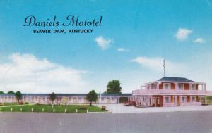 Daniels Mototel , BEAVER DAM , Kentucky , 50-60s