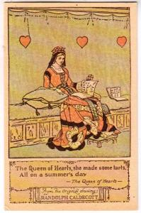 Queen of Hearts, Randolph Caldecott