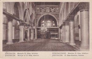 JERUSALEM , Israel , 00-10s; Mosque of El Aksa , interior