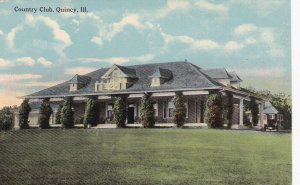 QUINCY, Illinois, 1900-10s; Country Club