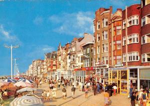 Belgium De Panne Zeedijk Promenade Digue de Mer