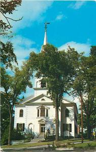 Congregational Church Middlebury Vermont VT Chrome