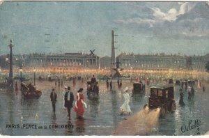 PARIS , France , 1918 ; Place De La Concorde ; TUCK Serie 951 P No 45