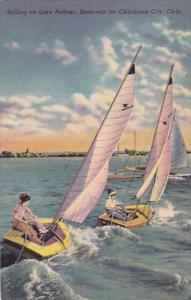Oklahoma City Sailing On Lake Heffner
