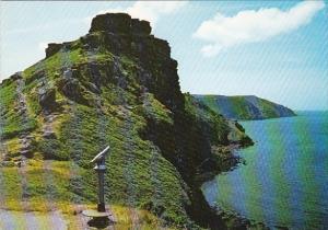 England Lynton Castle Rock