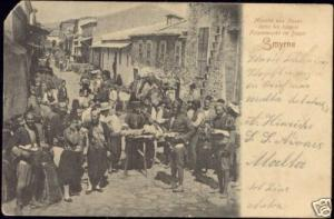 turkey, SMYRNE, Native Fig Market in Bazar (ca. 1899)
