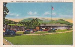 Sunnyside Lodge And Sunday School Cafeteria Lake Junaluska North Carolina