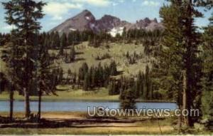 Broken Top Mountain Oregon Cascade Range OR Unused