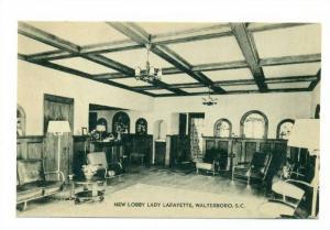 Interior, New Lobby Lady Lafayette, Walterboro, South Carolina, 1900-1910s